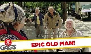 ¡Un Poco De Paciencia Para Estos Ancianos!
