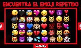 ¿Podrás Identificar El Emoji Que Se Repite?