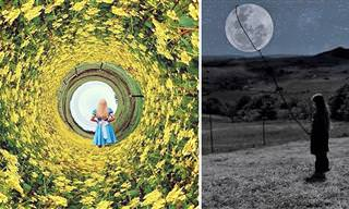 Esta Artista Crea Encantadoras Imágenes Con Su IPhone y Sus Hijos
