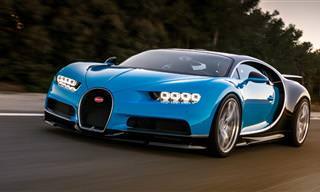 El Auto Bugatti Chirón Ya Es Una Leyenda Del Automóvil
