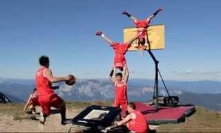 Cuando Se Juega Baloncesto En Situaciones Extremas