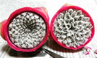 Increíbles Obras De Arte Creadas Con Frutas y Verduras