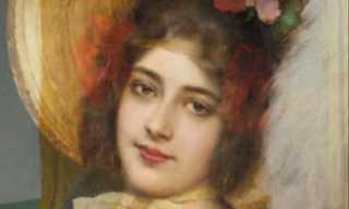¡500 Años De Retratos Femeninos En 3 Minutos!