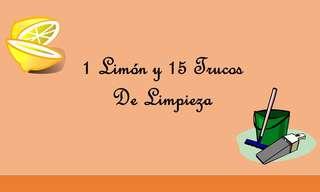 Imperdible: 1 Limón y 15 Trucos De Limpieza