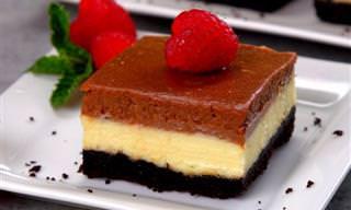 Crujiente y Sabroso Cheesecake De Nutella