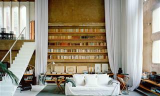 Diseño Brillante: Una Casa Que Era Una Fábrica De Cemento