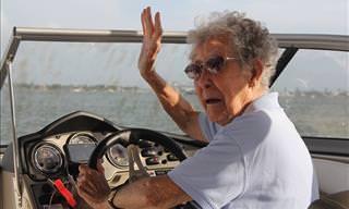 Tenía 90 Años y Escogió Ver El Mundo y No Un Hospital