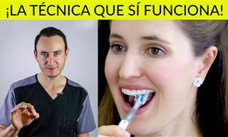 La Mejor Técnica Para Cepillar Tus Dientes y Cómo Usar Hilo Dental