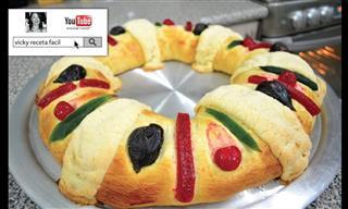Prepara Una Deliciosa y Tradicional Rosca De Reyes