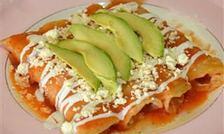 Platos Con Sabor a México: Entomatadas De Queso