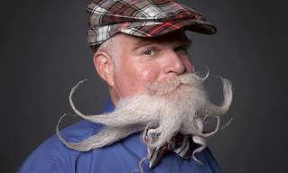 La Competencia Anual De Bigotes y Barbas