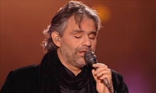 Conmovedor Homenaje De Andrea Bocelli a Elvis Presley