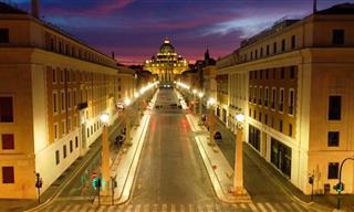 Las Calles Vacías De La Ciudad Eterna En Tiempos De Coronavirus