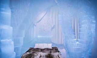 ¡8 Deslumbrantes Hoteles De Hielo!