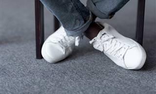 5 Maneras De Limpiar Tus Zapatillas Blancas