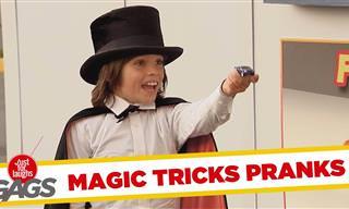 Compilación De Las Mejores Bromas Con Trucos De Magia