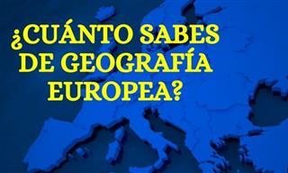 ¿Cómo Vas De Geografía Europea?