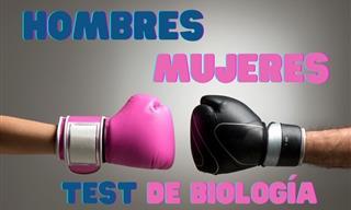 Test: Biología Hombres Vs. Mujeres