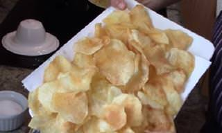 Video: Papas Chips Crujientes y Caseras