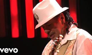 Carlos Santana Interpretando En Vivo Oye Como Va