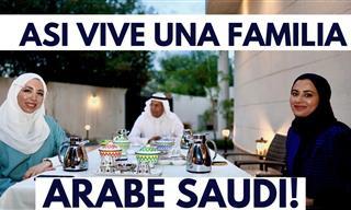 Una Mexicana Visita a Una Familia En Arabia Saudita