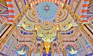 20 Mezquitas Con Techos Alucinantes