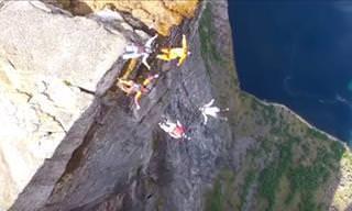 ¿Te Atreverías a Saltar Desde Los Fiordos Noruegos?
