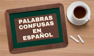 Un Desafío Con Palabras Confusas En Español