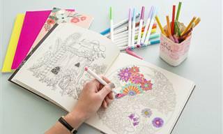 Colorear: 5 Increíbles Beneficios Para Los Adultos