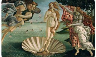 """12 Datos Sobre """"El Nacimiento De Venus"""""""