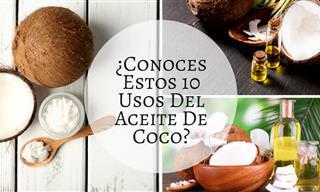 Aceite De Coco: 10 Usos Desconocidos De Un Gran Producto