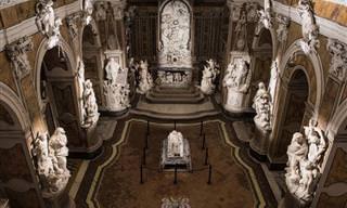 Impresionantes Esculturas De Mármol En Nápoles