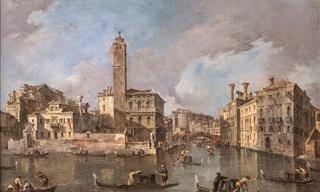 Aprecia El Bello Arte De Francesco Guardi