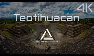 Recorre Las Sorprendentes Pirámides De Teotihuacán