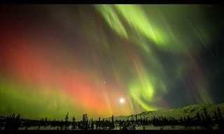 La Naturaleza Es Mágica: Auroras Boreales En Movimiento