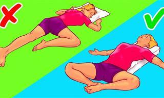 6 Posturas Eficaces Para Quedarte Dormido En Segundos