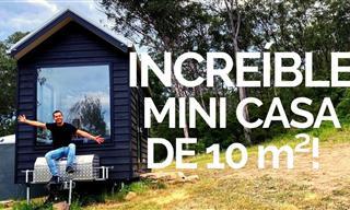 Una Increíble Mini Casa De 10 Metros Cuadrados