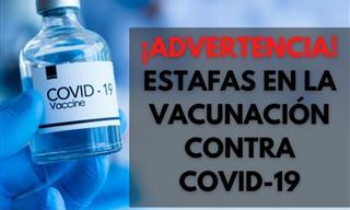 Ten Cuidado Con Estas Estafas De Vacunación Contra Covid-19