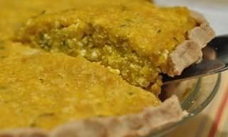 Un Sueño Vegetariano: Pastel De Tofu Con Calabacín