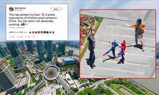 Una Foto de Shanghai de 195 Gigapixels