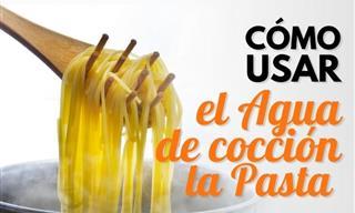 ¿Usas El Agua De Cocción De La Pasta Para Cocinar?