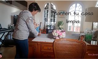 Cómo Mantener Tu Casa Limpia y Ordenada Sin Esfuerzo