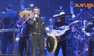 Alejandro Fernández y Plácido Domingo Juntos En Concierto