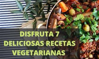 Prepara 7 Deliciosas Recetas Vegetarianas Para Consentir a Tu Familia
