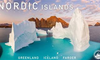 Admire Las Fascinantes Islas Nórdicas Desde El Aire