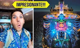 """Bienvenidos a """"Sinfonía De Los Mares"""" Crucero Más Grande Del Mundo"""