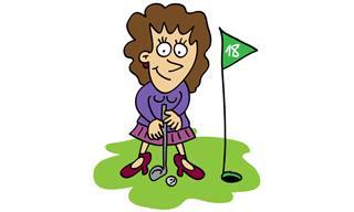 Chiste: La Mujer Ambidiestra Que Sabe Jugar Al Golf
