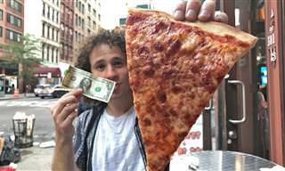 Buscando Comida De 1 Dólar En Nueva York
