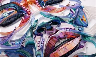 El Colorido e Impresionante Arte De Yulia Brodskaya