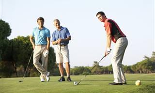 Chiste: 3 Amigos Muy Diferentes Juegan Al Golf